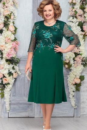 Платье Ninele 2238 изумруд
