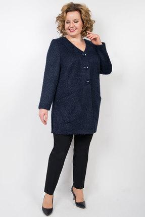 Жакет TricoTex Style 47-19 синий фото