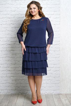 Платье Alani 1095 синий фото