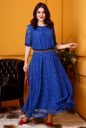 Платье Anastasia 385 василек