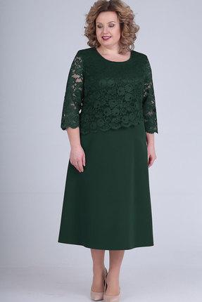 Платье Elga 01-651 зелёный фото