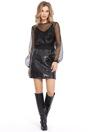 Комплект юбочный PIRS 923 черный