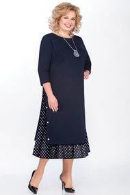 Платье БагираАнТа 594т синий