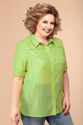 Блузка Romanovich style 8-1505 зеленый