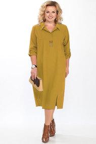 Платье Lady Secret 3604 горчица