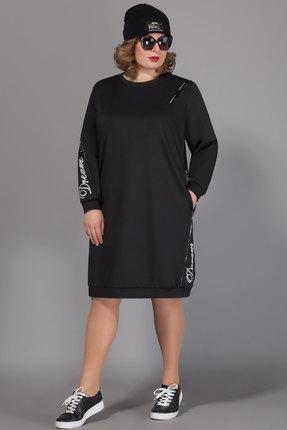 Спортивное платье Сч@стье 7051 черный