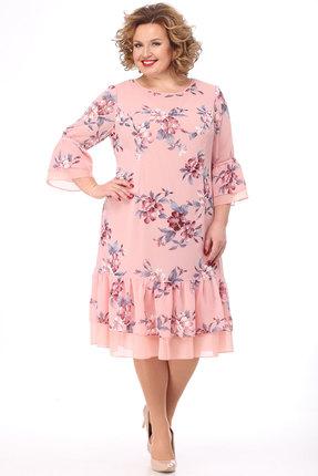 Платье KetisBel 1474 розовый фото