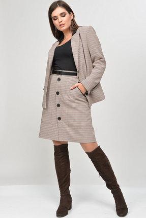 Комплект юбочный MALI 770 серый фото