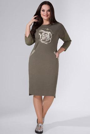 Платье Avanti Erika 944-5 хаки фото