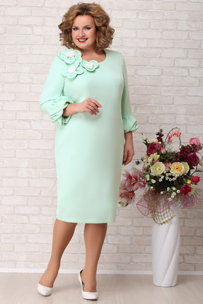 Платье Aira Style 725 мята