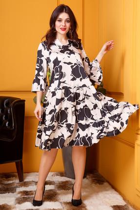 Платье Anastasia 399 молочный