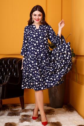 Платье Anastasia 397 синий