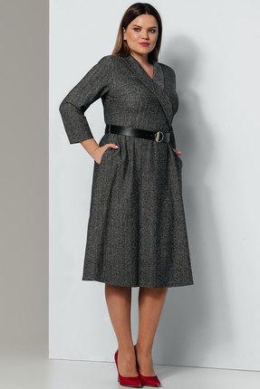 Платье Olegran 743 серый фото