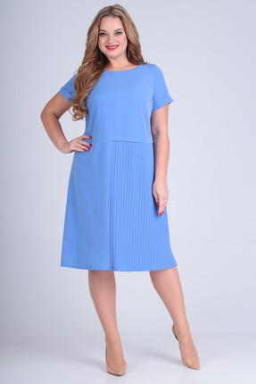 Платье SandyNa 13560 голубой фото
