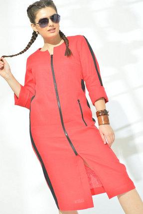 Платье MALI 419-008 красный фото
