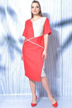 Платье MALI 419-025 красный фото
