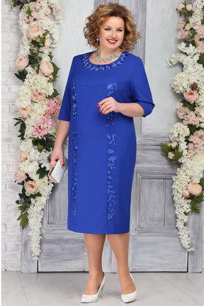 Платье Ninele 2246 василёк