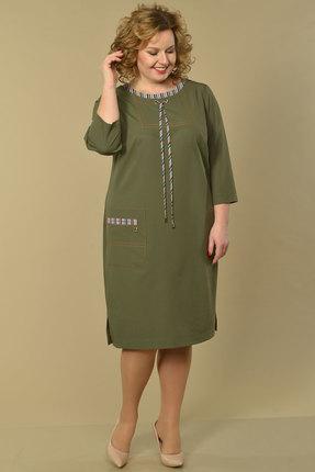 Платье Lady Style Classic 1949 хаки