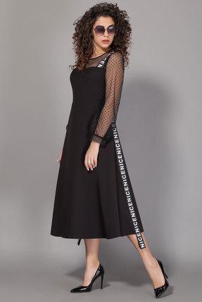 Платье Сч@стье 7013-1 черный