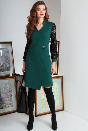 Платье Axxa 55131 зеленый фото