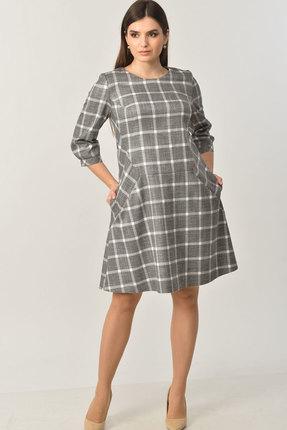 Платье Elga 01-654 серый фото