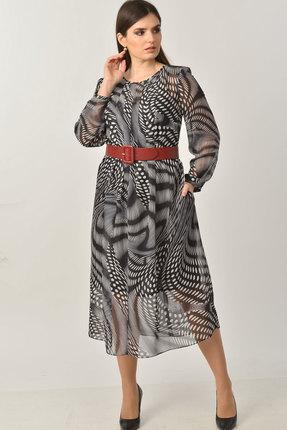 Платье Elga 01-653 чёрный фото