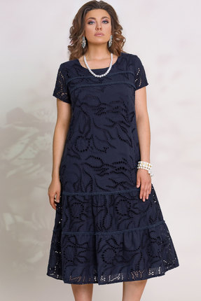 Платье Vittoria Queen 11033/1 синий