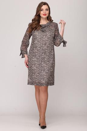 Платье Verita Moda 2047 серые тона
