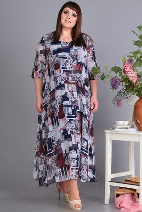 Платье Algranda 3176-Б мультиколор фото