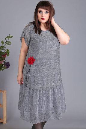 Платье Algranda 3442 серые тона
