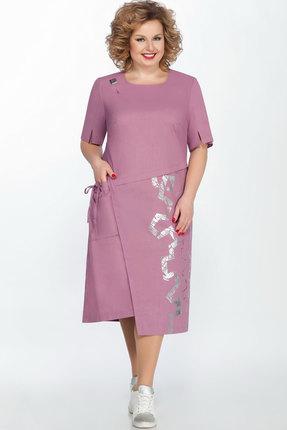 Платье LaKona 1278 лавандовый