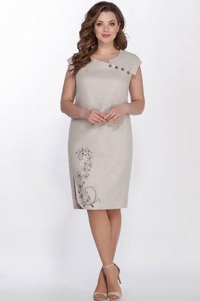 Платье LaKona 1277 песочный фото