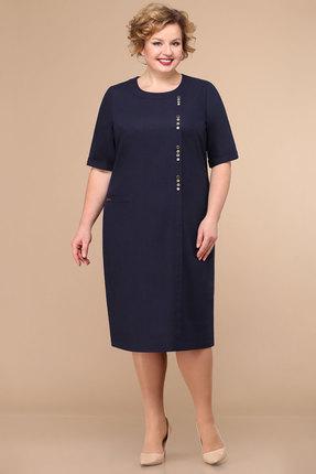 Платье Линия-Л Б-1792 чернильный фото