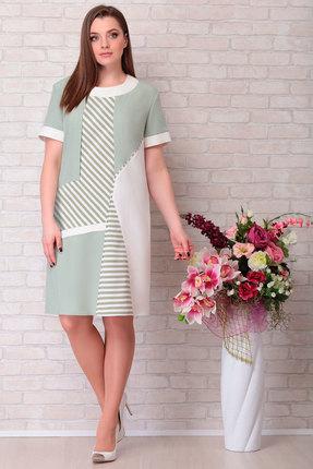 Платье Aira Style 678 олива