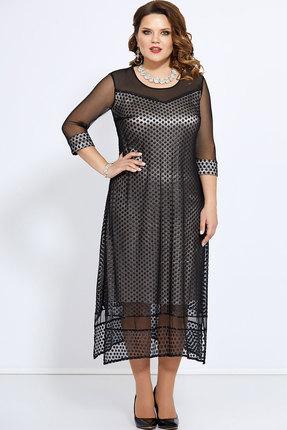 Платье Mira Fashion 4759 чёрный