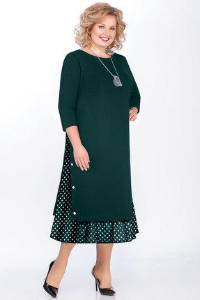 Платье БагираАнТа 594т зеленый фото