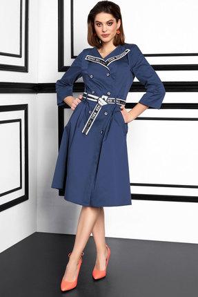 Платье Lissana 3924 синий