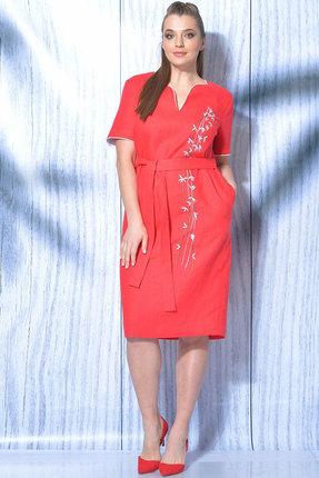Платье MALI 419-018 красный фото