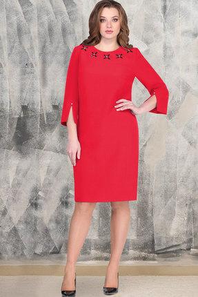 Платье ТАиЕР 825 красный