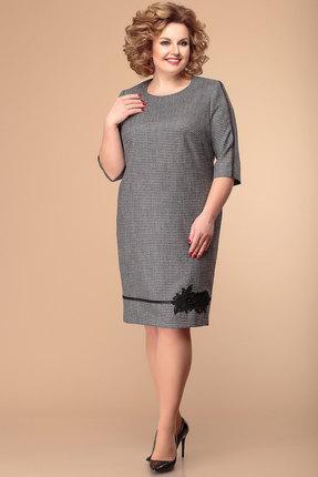 Платье Romanovich style 1-1929 серый