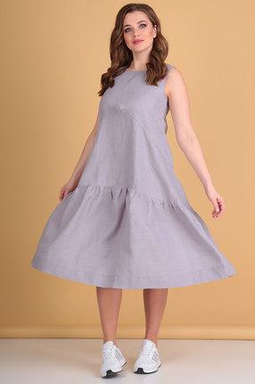 Платье Flovia 4015 серые тона фото