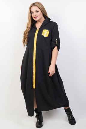 Платье TricoTex Style 03-20 чёрный фото