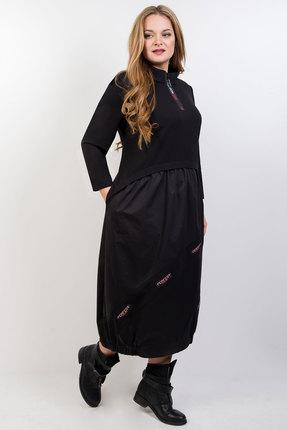 Платье TricoTex Style 06-20 черный фото