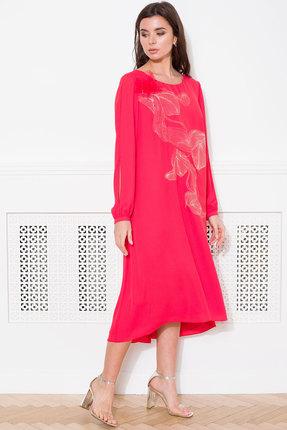 Платье Faufilure с1029 красный