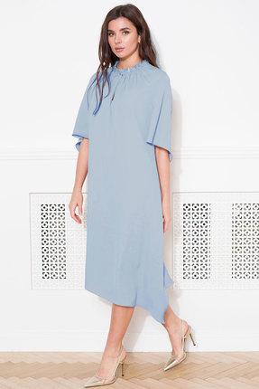 Платье Faufilure с1045 голубой фото