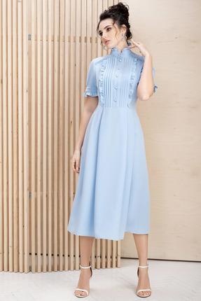 Платье ЮРС 20-337-1 голубой