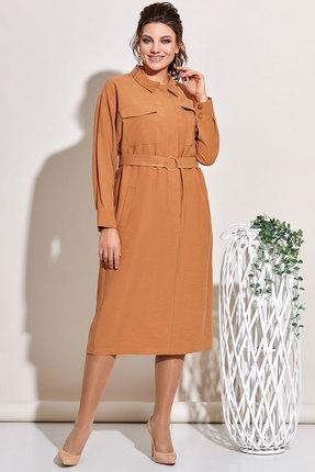Платье Olga Style с653 кемел фото