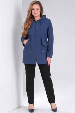 Куртка Milana 195 синий фото