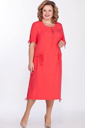 Платье Теллура-Л 1480 красный