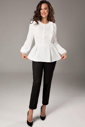 Блузка Teffi style 1471 молочный